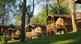 cabins at the hersheypark camping resort
