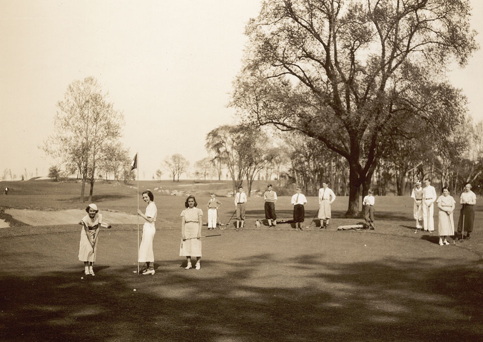 Historic image of Hershey Country Club