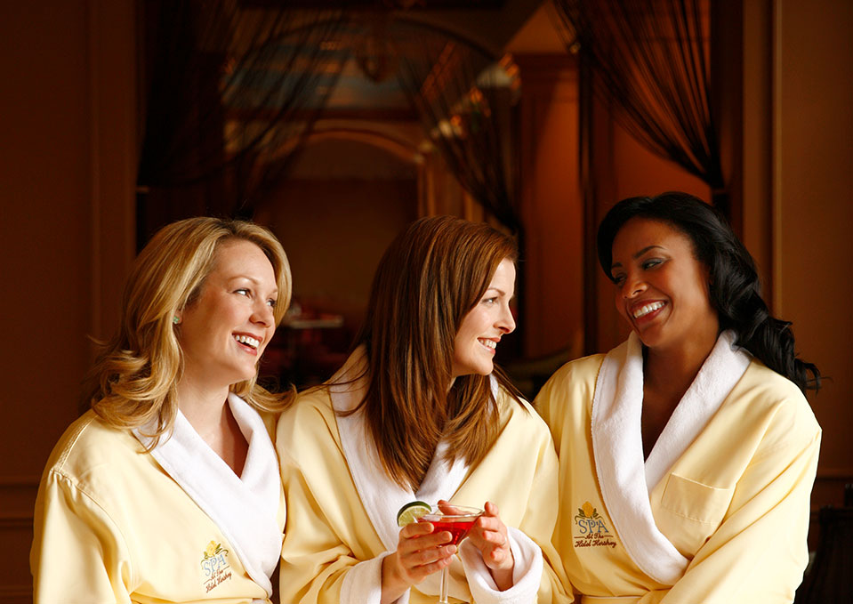 Women enjoying their time at The Spa At The Hotel Hershey