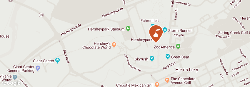 hersheypark map