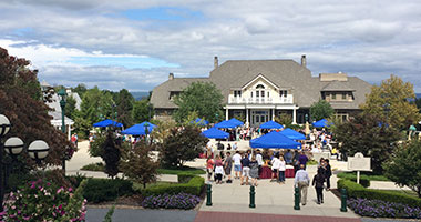 overview of the Wine and Food Festival event at The Hotel Hershey