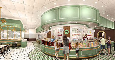 Milton's Ice Cream Parlor render