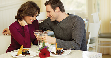 Romantic dinners during Chocolate-Covered February