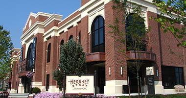 Exterior of Hershey Story Museum