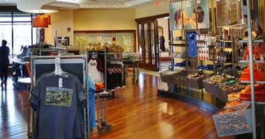 Interior view of The Museum Shop at The Hershey Story